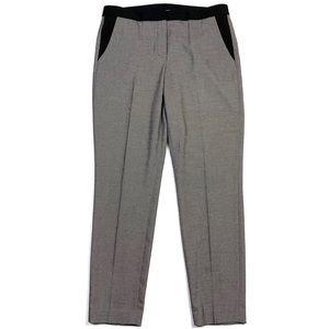T TAHARI Dot Print Slim Leg Pant